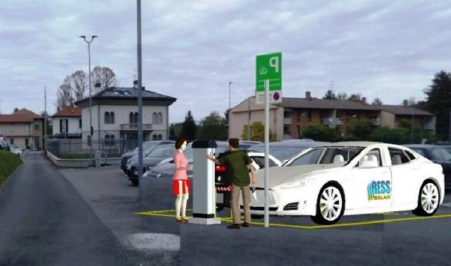 ricarica auto elettriche somma