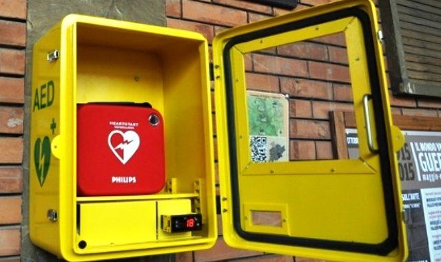 defibrillatore Albizzate circolo The Family