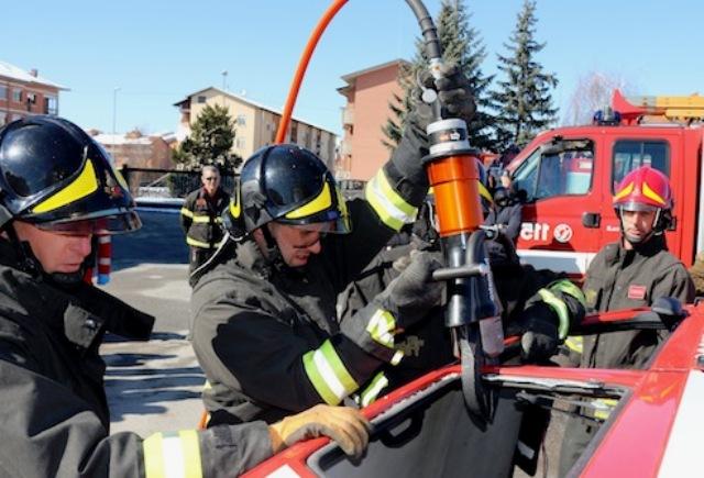 kit salvavita vigili fuoco Gallarate