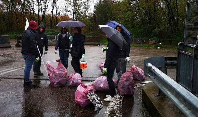 raccolta rifiuti boschi gallarate