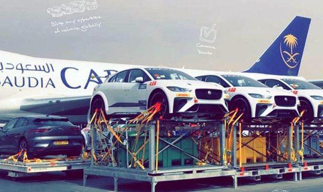 Formula E Malpensa Saudia Cargo