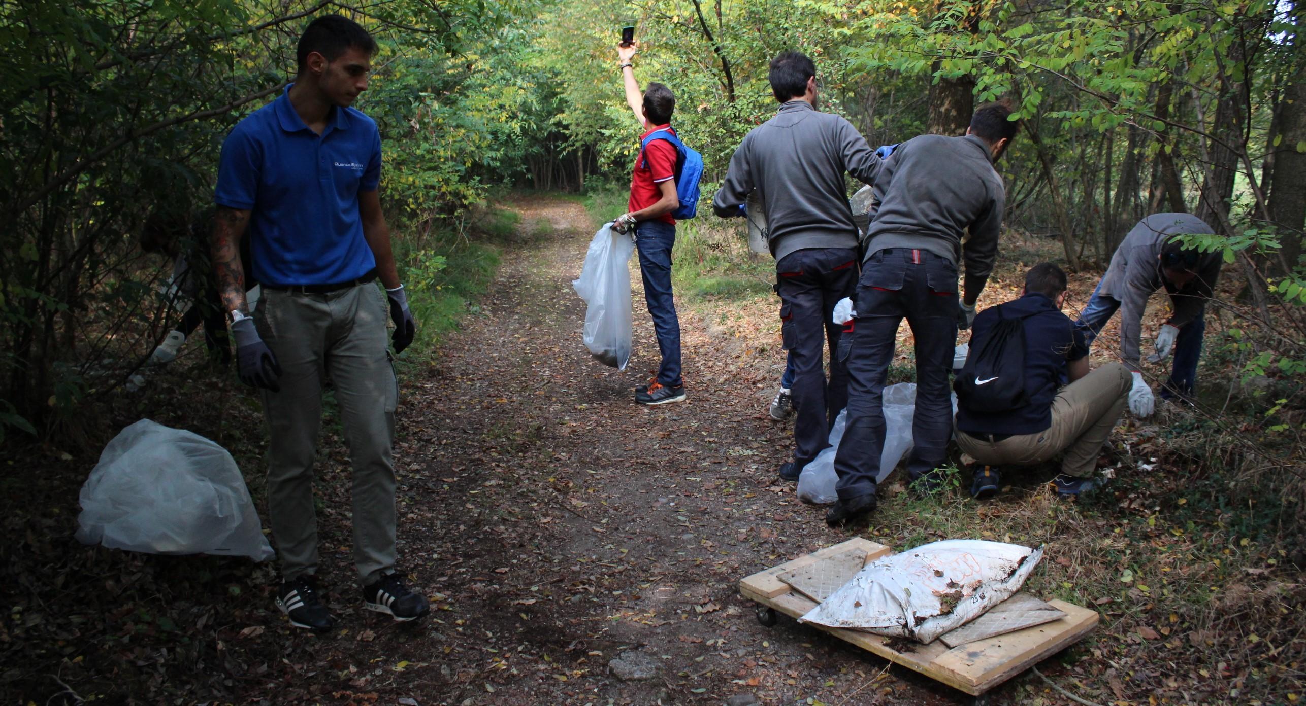 samarate quanta volontari rifiuti