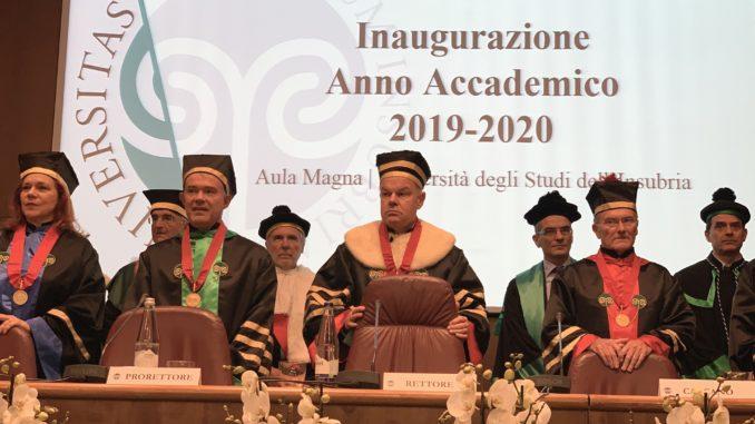 Varese università anno accademico 19 - 20
