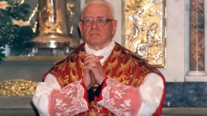 Zecchin Monsignor Aldo Cesare