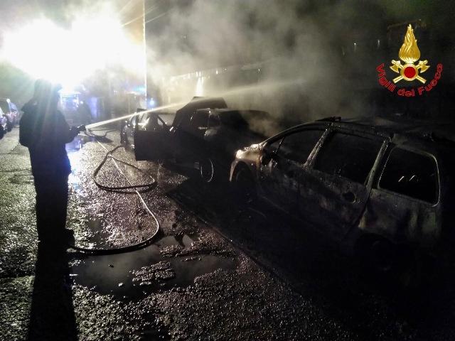 busto incendio auto