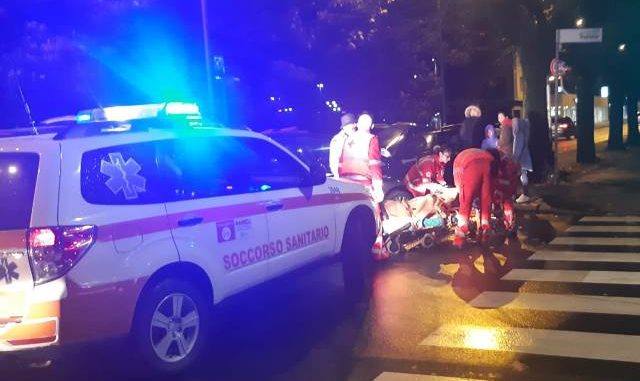 gallarate incidente viale milano
