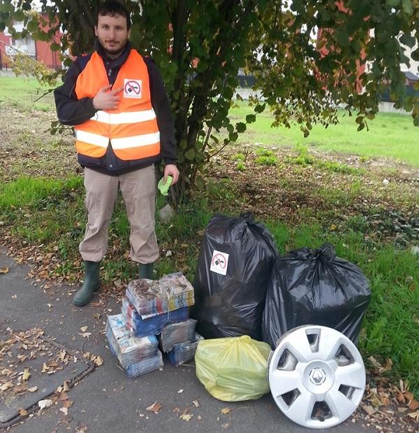 rescaldina volontari pulizia rifiuti