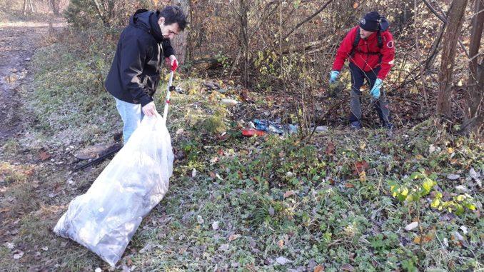 mornago volontari pulizia rifiuti