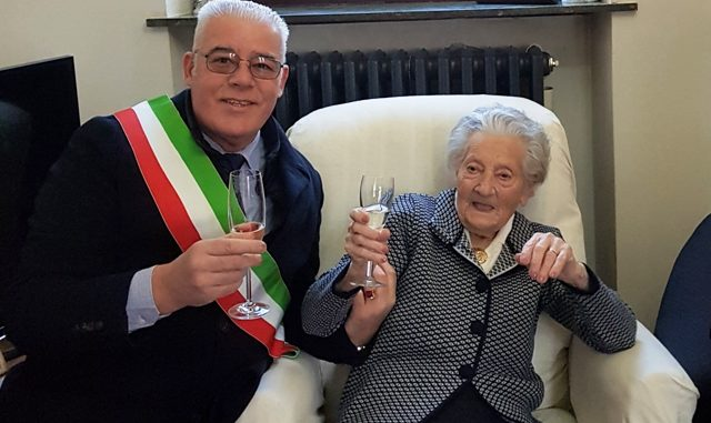Golasecca centenaria Pina Santa Roncalli