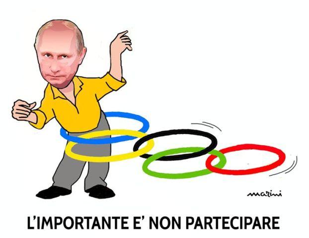 russia olimpiadi marini