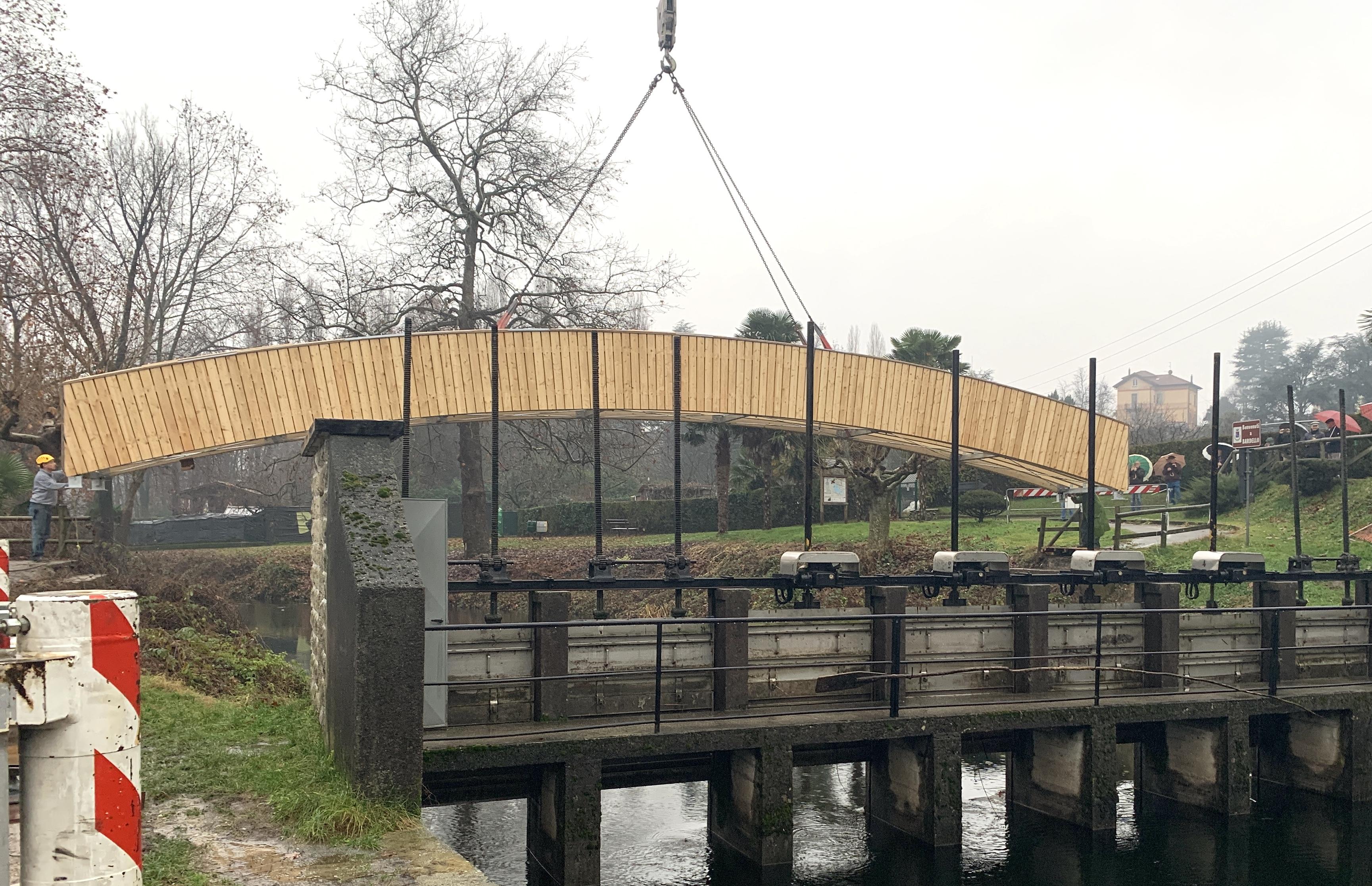 Bardello nuovo ponte ciclabile