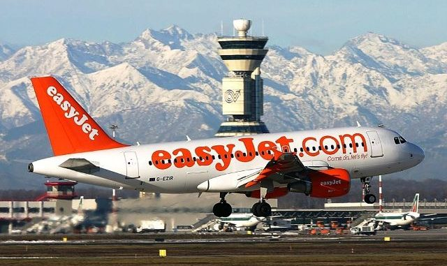 EasyJet Malpensa passeggeri 2019