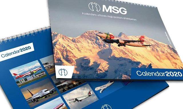 Malpensa calendario 2020 Msg