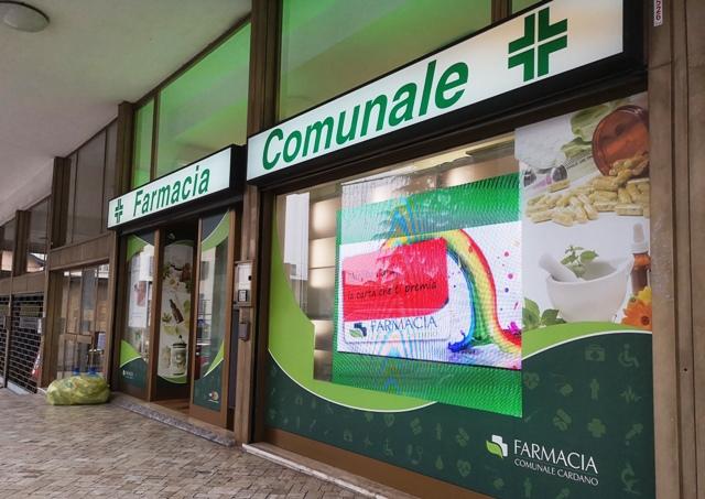 Cardano farmacia comunale domenica