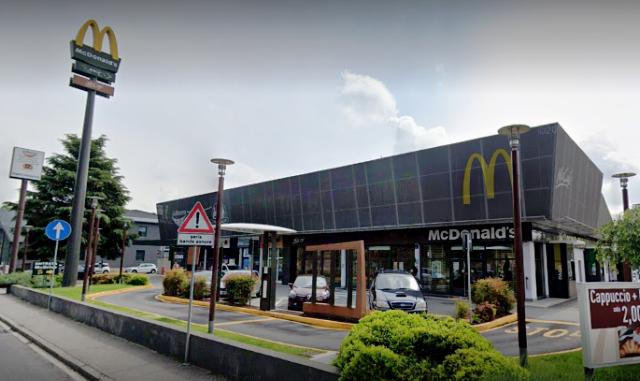 Rapina McDonalds Legnano Arrestato