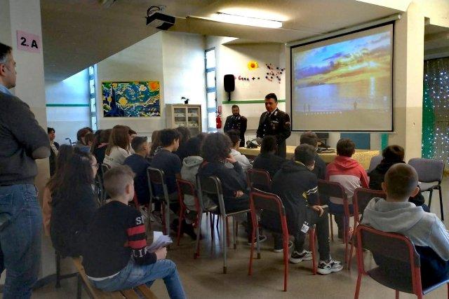 albizzate scuola legalità carabinieri