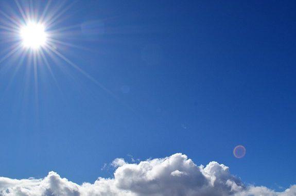 anticiclone sole gelate pianura