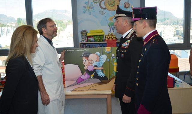 carabinieri babbo natale bimbi