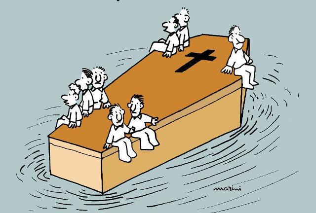 migranti papa francesco marini