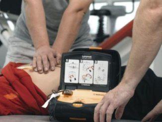 defibrillatore busto