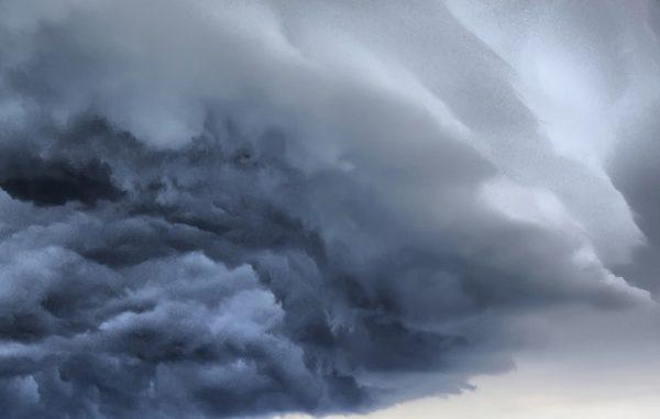 doppio peggioramento nubi pioggia