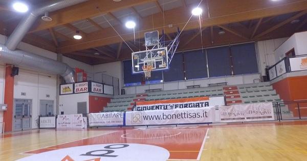 legnano palestra freddo basket