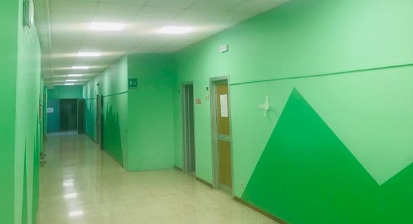 villacortese scuole lavori luci
