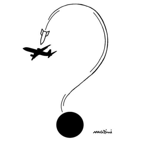 aereo iran marini