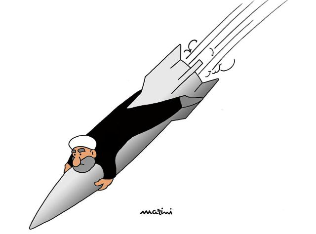 missile iran marini