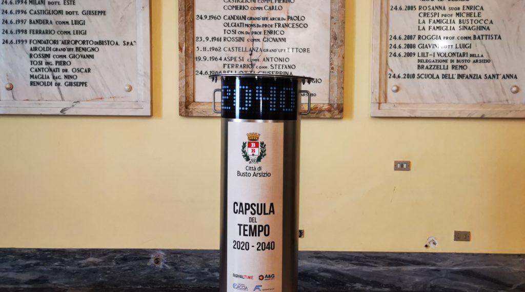 capsula tempo busto