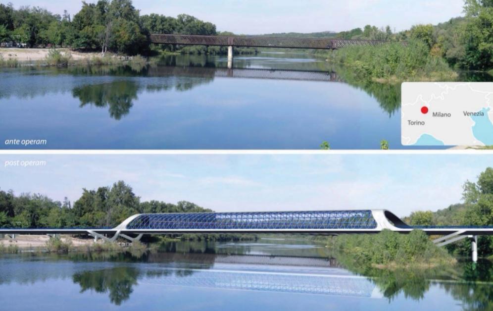 nuovo ponte oleggio progetto