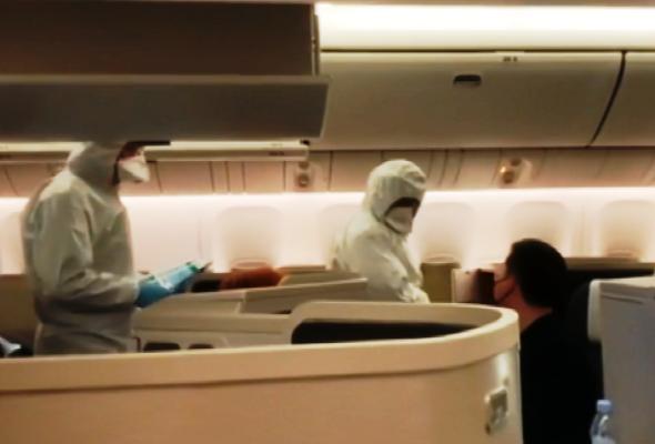 Malpensa medici aerei Coronavirus