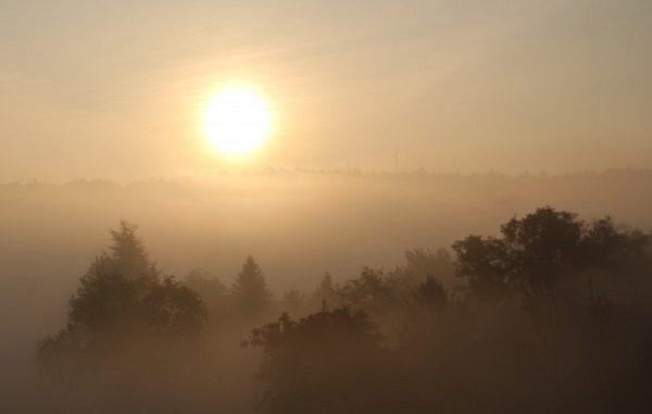 anticiclone sereno nebbia aumento