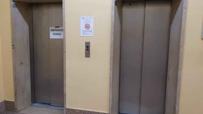 busto ospedale ascensori rotti