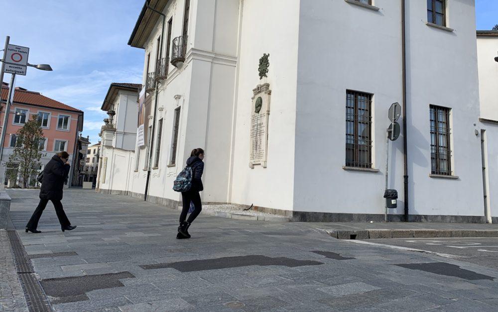 busto piazza vittorio emanuele pavimentazione