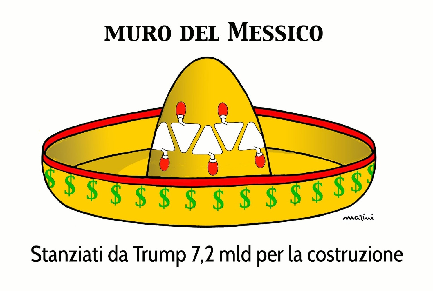 marini messico muro trump