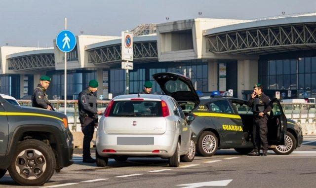 Malpensa taxi illegali multe