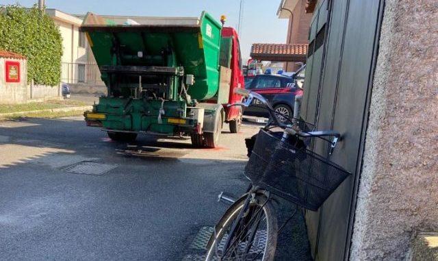 muore ciclista caronno pertusella