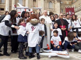 Papa Francesco Air Italy