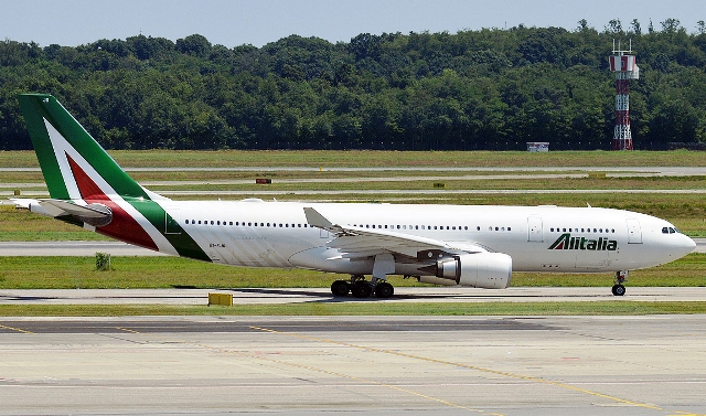 New York Malpensa volo Alitalia