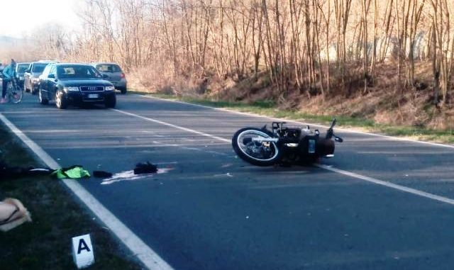 sesto incidente moto lisanza