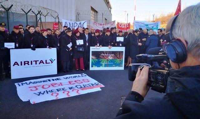 tracollo Air Italy ministero