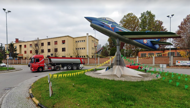 Aeronautica Casermone Gallarate Demanio