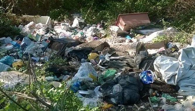 busto rifiuti abbandonati legambiente