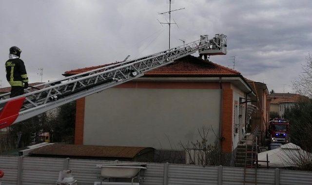 cassano incendio tetto