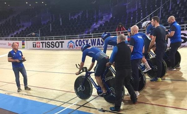ciclismo mondiale berlino pista
