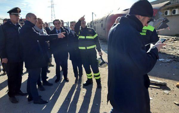 treno frecciarossa ferrovie deragliamento