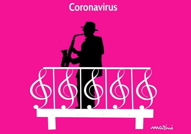coronavirus balconi marini