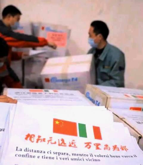 Malpensa ventilatori polmonari medici cinesi