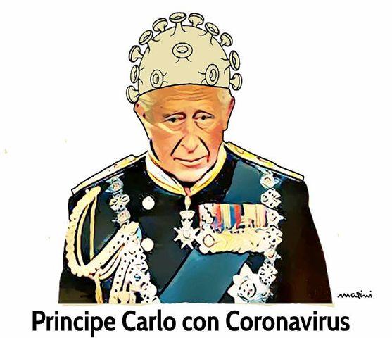coronavirus principe carlo